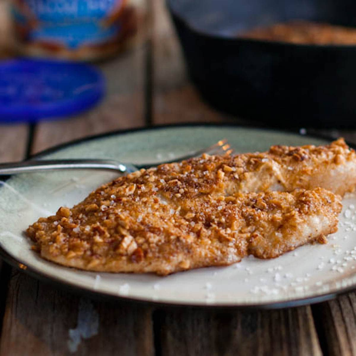 Almond Coated Basa