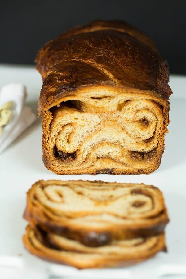 Babka, Cinnamon (Low Sugar, Low Carbohydrate)