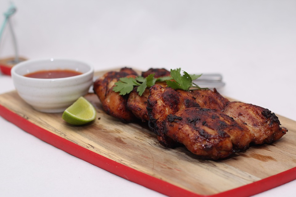 Lime Chicken With Grilled Pineapple