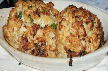 Amazing Crab Rice Cakes