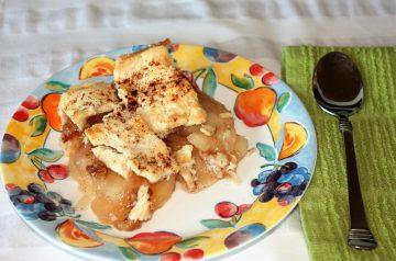 Apple Pecan Cobbler