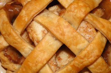Apple Pie Baked in a Brown Paper Bag