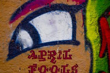 April Fools' Day  Sunny Side up Sundaes