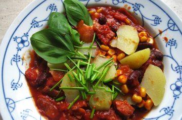 Tomato Barley Stew