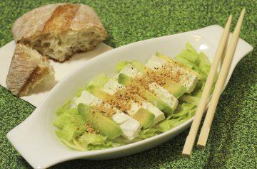 Avocado and Kohlrabi Salad