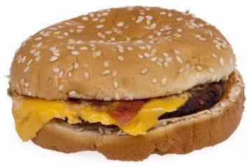 Bacon Cheeseburger Upside Down Pizza