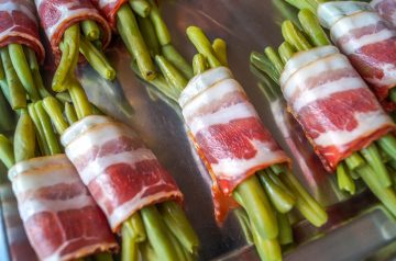 Bacon Wrapped Cheeseburgers