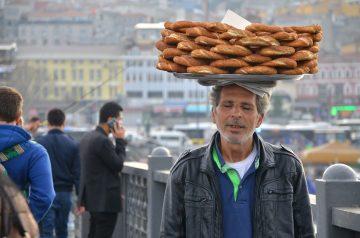 Turkey Bagel Sandwiches
