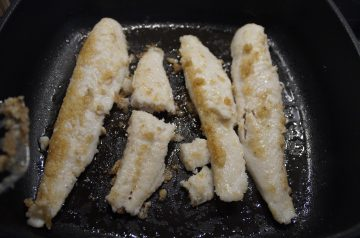 Baked Spicy Fillet of Fish for One