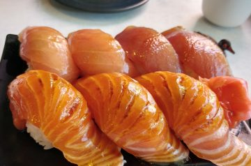 Barbecued Fish Steaks