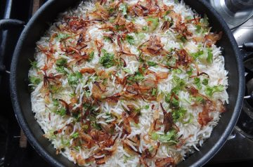 Basmati-Sun-Dried Tomato Rice Pilaf