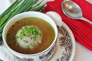 Beef and Bulgur Soup