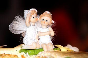 Cherry Angel Food Cake