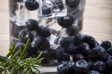 Blueberry Compote Topping