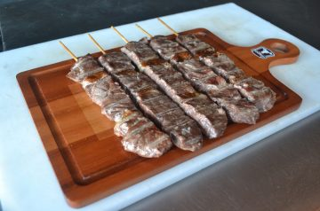 Sizzling Party Beef Kebabs