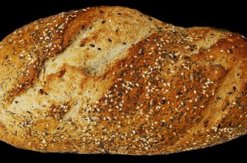 Banana-Date Flax Seed Bread