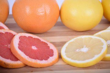 Broiled Grapefruit Halves