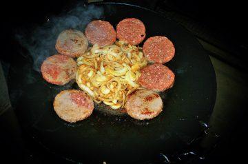 Bruschetta Beef Patties