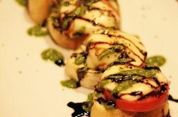 Bruschetta With Ammogghiu Sauce - Sicilian