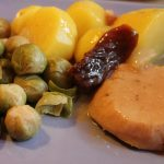 Pan Roasted Brussels Sprouts With Potatoes (Ww)