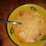 Cabbage and Tofu Soup