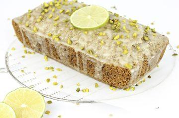 Lemon Molasses Marble Cake