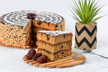 Cardamom Date Cake