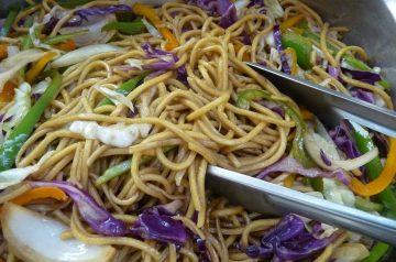 Cashew Chicken Chow Mein (EASY)