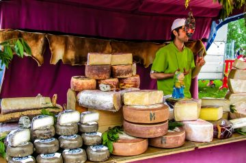 Pistachio-Goat Cheese Bites