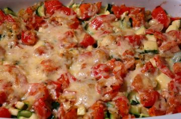 Quick-Topped Vegetable Chicken Casserole