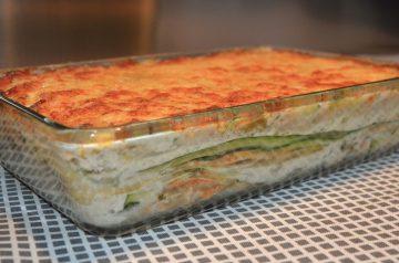 Cheesy Zucchini Lasagna
