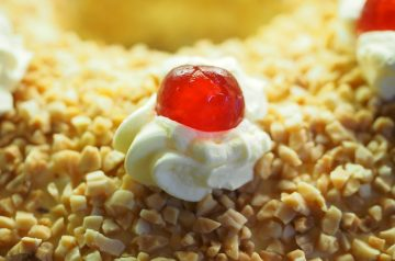 Cherry Clafouti (French Cherry Custard Cake)