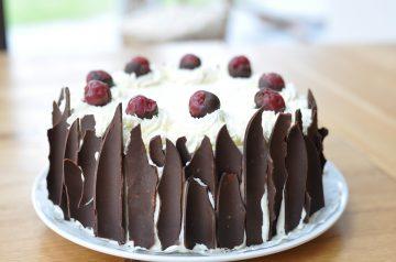 Cherry Marshmallow Cake