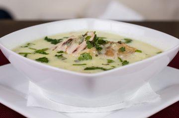 Non-Dairy Cream of Chicken and Corn Soup