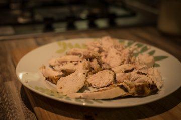 Grilled Chicken With Mango Habanero Glaze