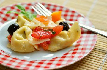Chicken BLT Tortellini Salad
