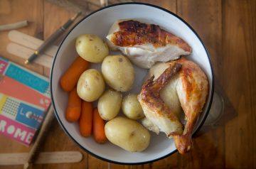Chicken Potato Packets