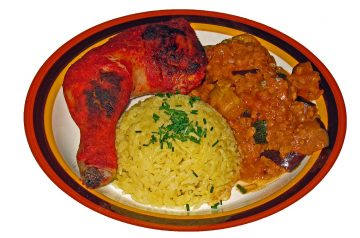 Chicken Tandoori With Passionfruit and Apricot Chutney