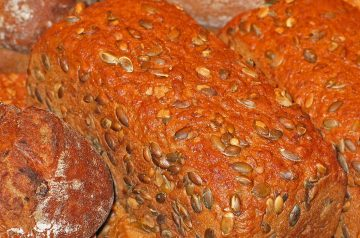 Chocolate Almond Pumpkin Bread