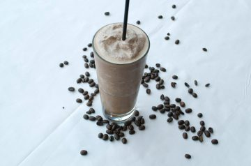 Chocolate and Chai Frappe
