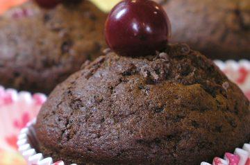 Chocolate Cherry Cordial Muffins