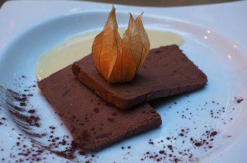 Chocolate Mint Parfait
