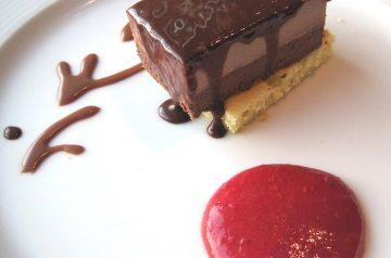 Chocolate Raspberry Mousse Pie
