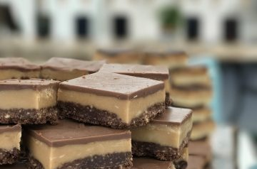 Chocolate-Toffee Shortbread