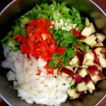 Colorful Chopped Salad With Oil-Cured Tuna