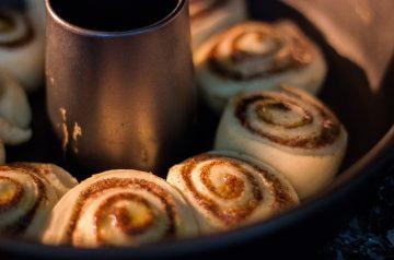 Cinnamon Flax Muffins