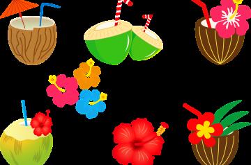 Coconut-Crab Cocktail