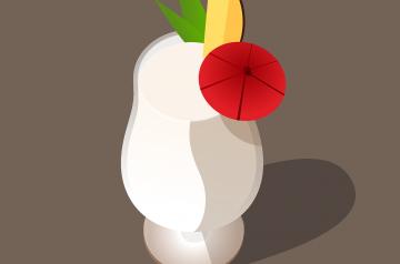 Coconut or Pina Colada Cake