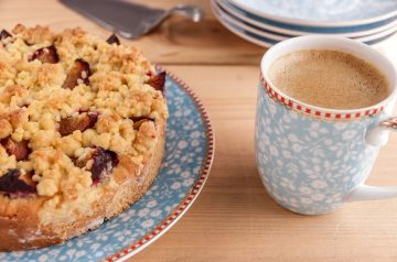 Coffee Cake Scones With Pecan Streusel Crunch