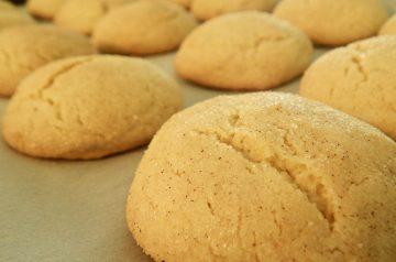 Spicy Snickerdoodle Cookies